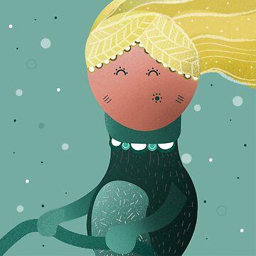 Little Miss Sunshine - Taking life by the reins by Queenlardcake