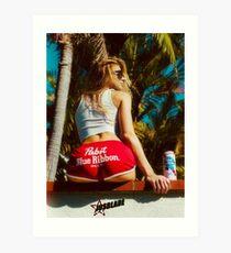 Surfer Girl ★ Art Print