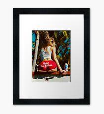 Surfer Girl ★ Framed Print