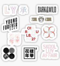 BTS ALBUM ARTWORKS Sticker