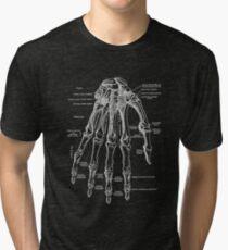 Vintage Anatomical Hand Tri-blend T-Shirt