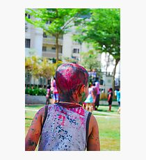 Holi spirit Photographic Print