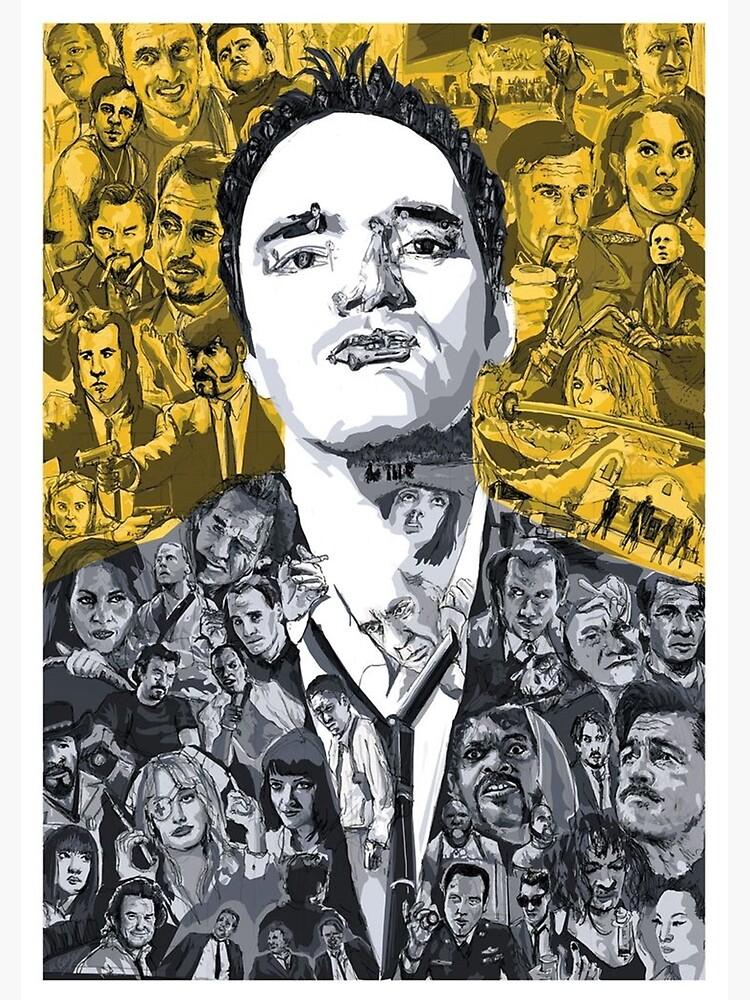 Tarantino's mind by velvetcinema