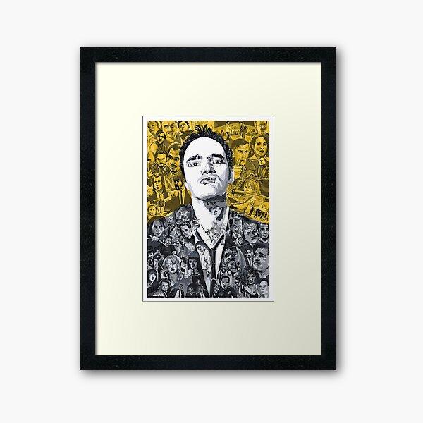 Tarantino's mind Framed Art Print