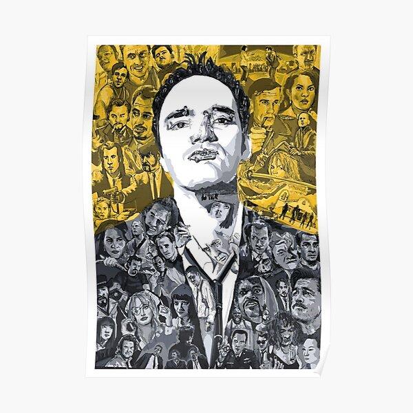 Tarantino's mind Poster