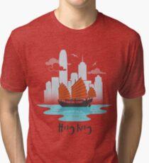 Hong Kong Tri-blend T-Shirt