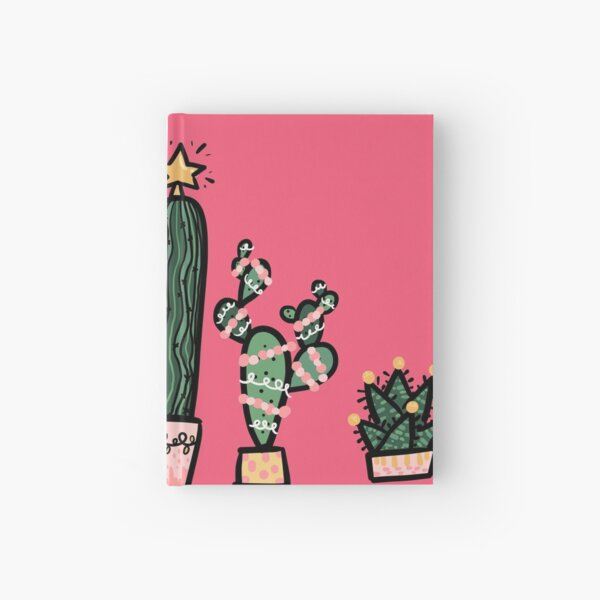 Holiday Succulents Hardcover Journal