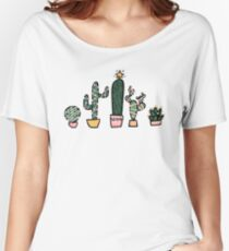 Holiday Succulents Women's Relaxed Fit T-Shirt