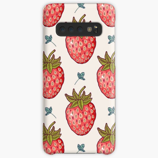strawberry fields Samsung Galaxy Snap Case