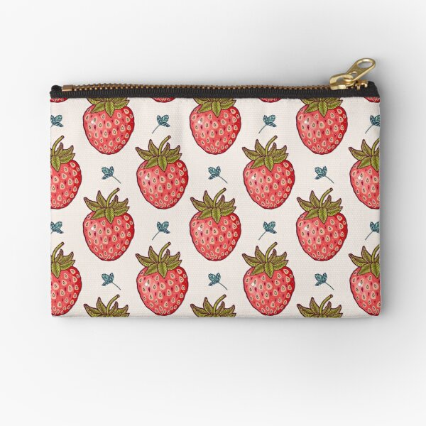 strawberry fields Zipper Pouch