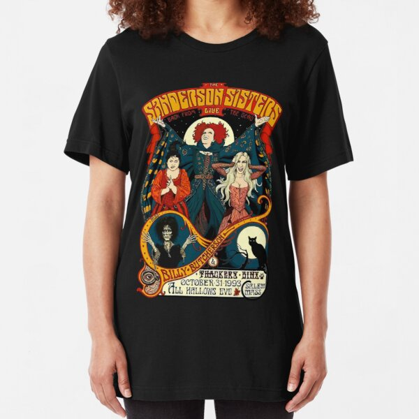 Sanderson Sisters Slim Fit T-Shirt