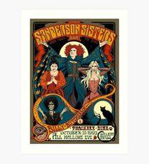 Die Sanderson-Schwestern Kunstdruck