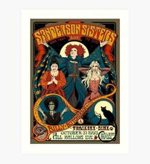 The Sanderson Sisters Art Print