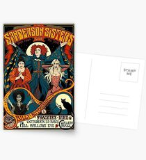The Sanderson Sisters Postcards