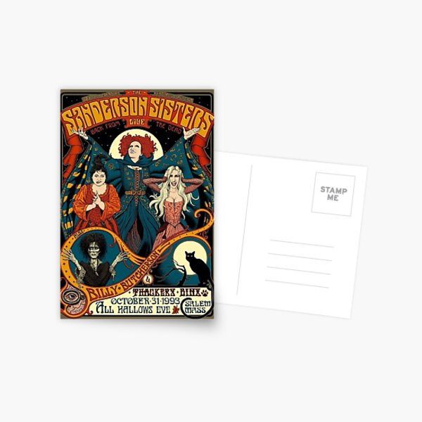 The Sanderson Sisters Postcard