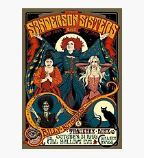 The Sanderson Sisters Photographic Print