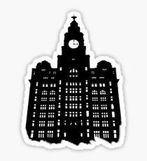 Royal Liver Building Sticker