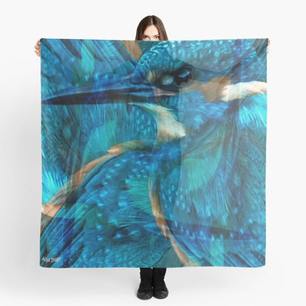 Designs Inspired By Nature: Kingfisher Scarf