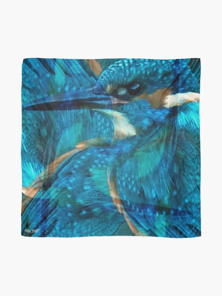 Alternate view of Designs Inspired By Nature: Kingfisher Scarf