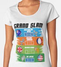 Grand Slam of Tennis Women's Premium T-Shirt