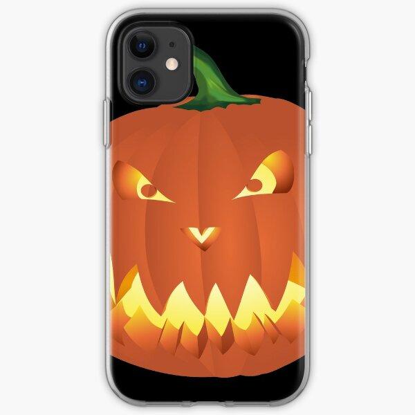 Halloweenkürbis... iPhone Flexible Hülle