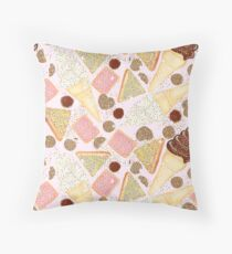 I Love You 100s and 1000s - Pink Throw Pillow
