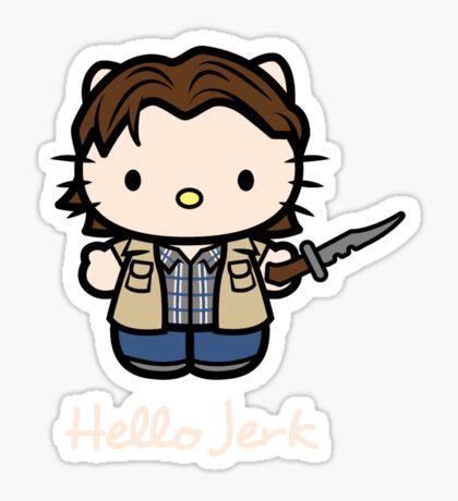 Jerk Sticker