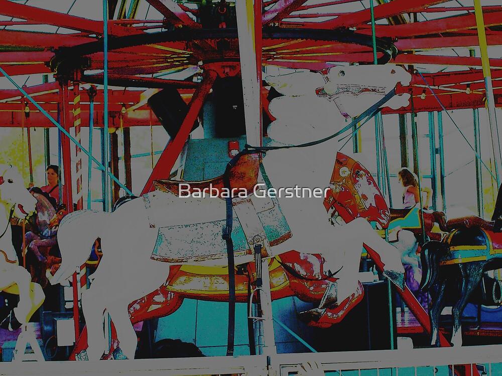 Merry-go-round by Barbara Gerstner