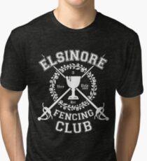 Elsinore Fencing Club - Hamlet Tri-blend T-Shirt
