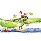 Crocodile by kulawiecka