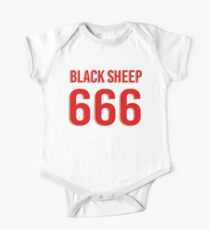 Black sheep 666 One Piece - Short Sleeve