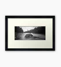 Sand River Framed Print