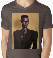 Grace Jones Men's V-Neck T-Shirt