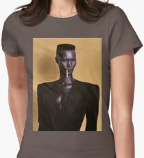 Grace Jones Women's Fitted T-Shirt