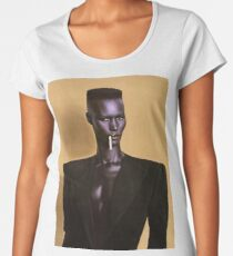 Grace Jones Women's Premium T-Shirt