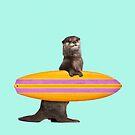 SURFING OTTER von JonasLoose