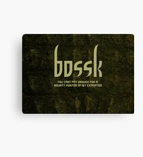 Bossk Canvas Print