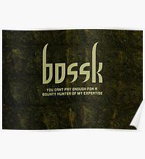 Bossk Poster