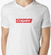 colgate Men's V-Neck T-Shirt