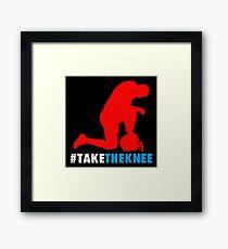 Take the Knee Framed Print