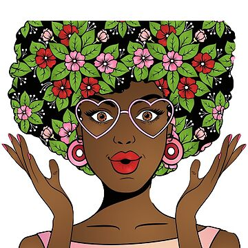 Colorful Afro is fun! by Labala