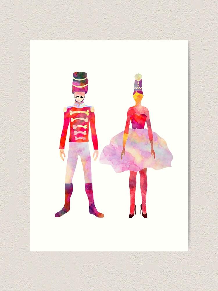 Alternate view of Nutcracker Ballet Art Print