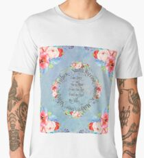 I am hers and she is mine. GOT Wedding Vows Men's Premium T-Shirt