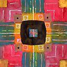 ERQ No 4 Abstract watercolor by Dan Vera by danvera