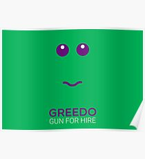 Greedo - Star Wars Poster