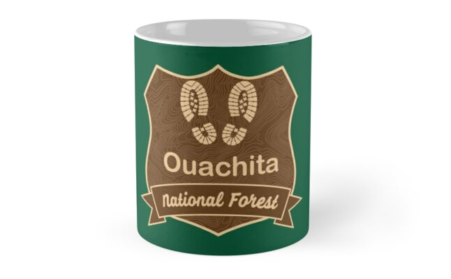 Ouachita National Forest by ginkgotees