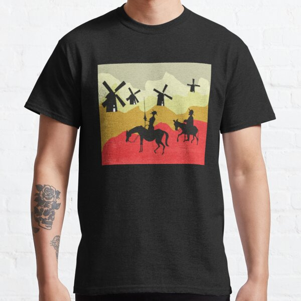 Tilting at windmills, Don Quixote Classic T-Shirt