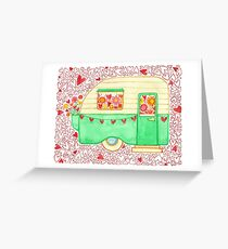 Caravan of Love Greeting Card
