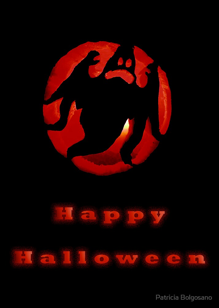 Happy Halloween by Patricia Bolgosano