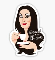 Normal is an illusion Sticker